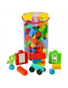 145 PCS LEGO SİLİNDİR KUTULU
